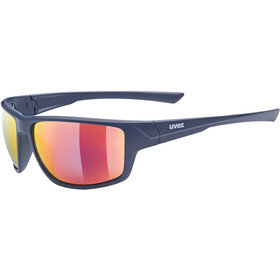 UVEX Sportstyle 230 Glasses blue matt/mirror red